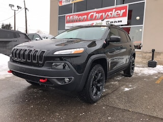 2018 Jeep Cherokee TRAILHAWK 4X4|LEATHER|NAVIGATION|PANORAMIC SUNROOF SUV