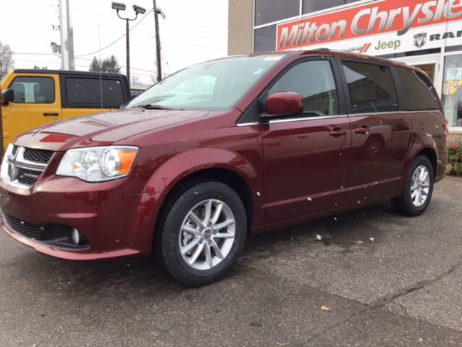 2019 Dodge Grand Caravan PREMIUM PLUS / DVD / LEATHERETTE / BLUETOOTH Van
