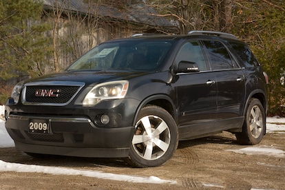 Used 2009 Gmc Acadia For Sale At Manitoulin Chrysler Limited Vin