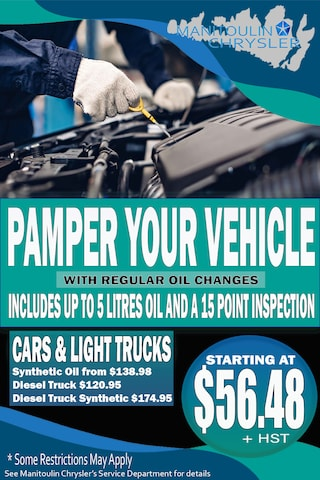 Pamper Your Vehicle with Oil Changes This Year!