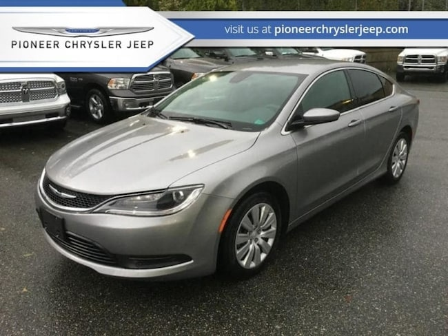 2017 Chrysler 200 LX Only $136 bi/w Sedan