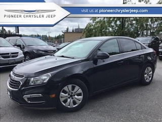 2016 Chevrolet Cruze LT -  Bluetooth Sedan