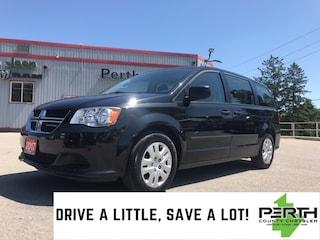 2017 Dodge Grand Caravan SE | Rear AC | Power Heated Mirrors | 2nd Row Stow Minivan/Van