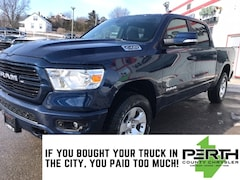 2020 Ram 1500 Big Horn   Level 2   North Edition    Cloth Bucket Seats   Power Driver Seat   Remote Start   Chrome Package   Truck Crew Cab