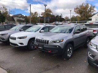 2019 Jeep New Cherokee Trailhawk  Leather   Sunroof   Navigation   Power SUV