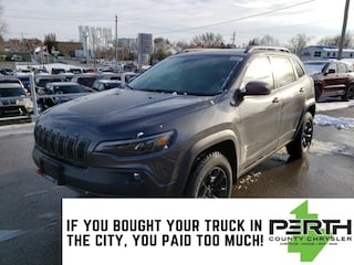 2020 Jeep Cherokee Trailhawk Elite | Leather | Trailer Tow | Push But SUV