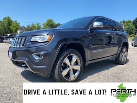 2016 Jeep Grand Cherokee Overland | Leather | Tow Package | Park Sense | SUV