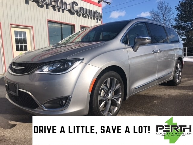 2018 Chrysler Pacifica Limited | Leather | Navigation | Heated Seats | Ad Minivan/Van