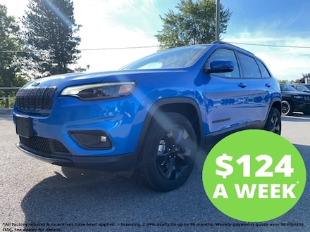 2020 Jeep Cherokee Altitude | Trailer Tow Group | Sunroof | Remote St 4x4