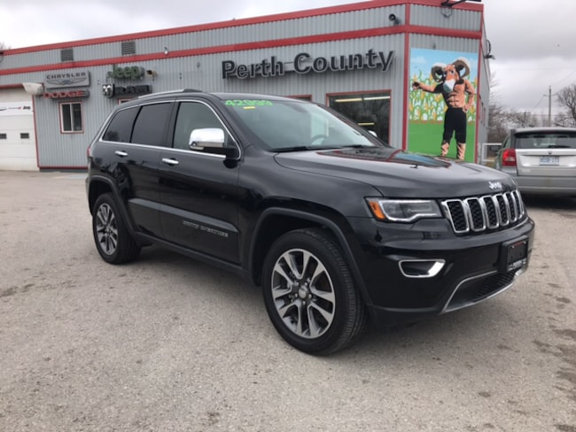2018 Jeep Grand Cherokee Limited | Leather Trimmed Seats | Dual Pane Panora SUV
