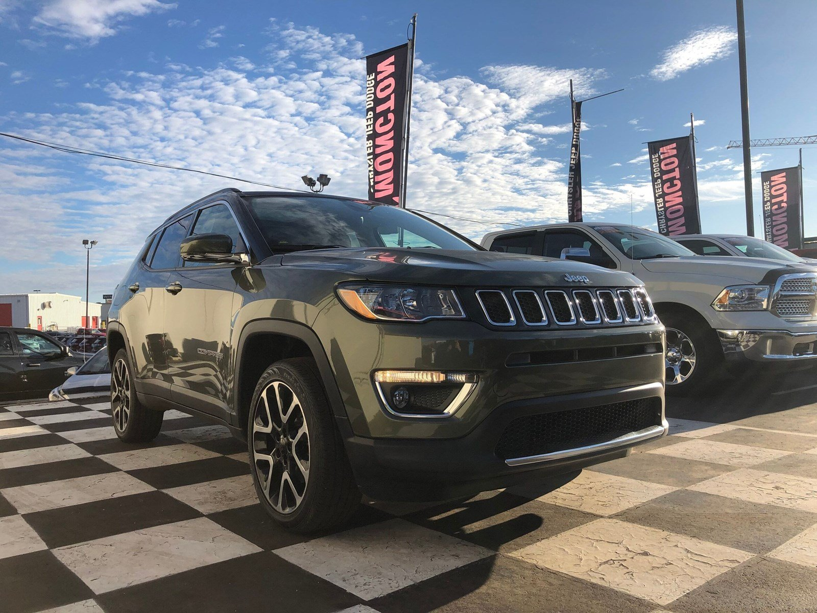 2017 Jeep Compass Limited 4WD  Limited