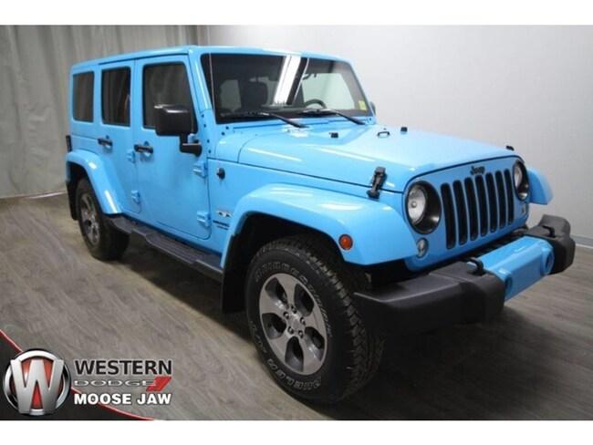 2017 Jeep Wrangler JK Unlimited Sahara SUV
