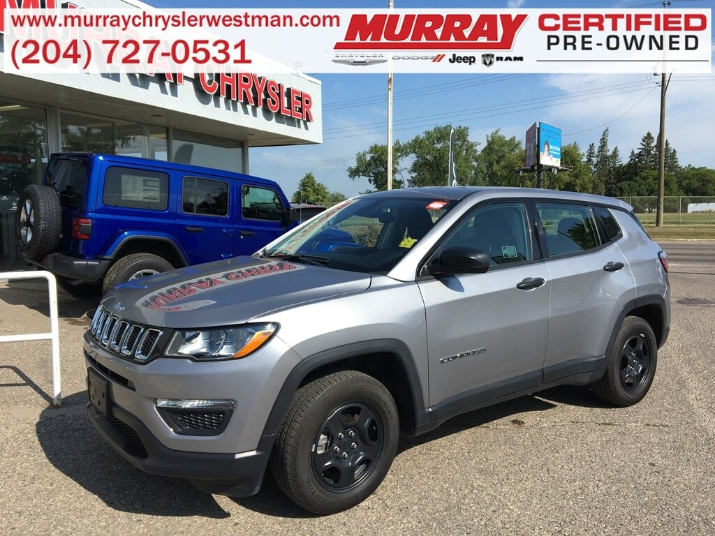 2018 Jeep Compass Sport FWD *Accident Free* *LOW KMS* *Touchscreen* SUV