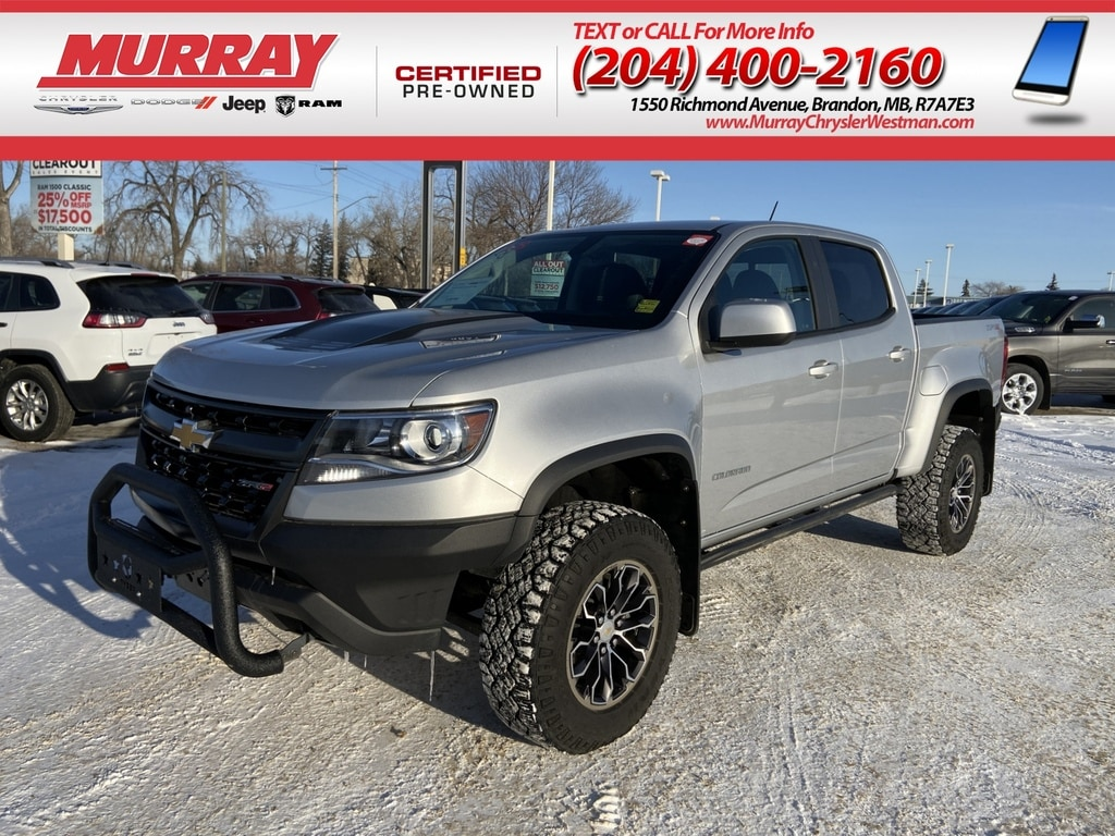 2018 Chevrolet Colorado ZR2 4WD *Backup Cam* *Heat Leather* *Apple Carplay Truck