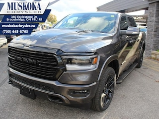 2020 Ram 1500 Laramie - Night Edition - Leather Seats Truck Crew Cab