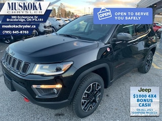 2021 Jeep Compass Trailhawk Elite - Sunroof 4x4