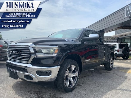 2019 Ram All-New 1500 Laramie - Navigation -  Uconnect Truck Quad Cab