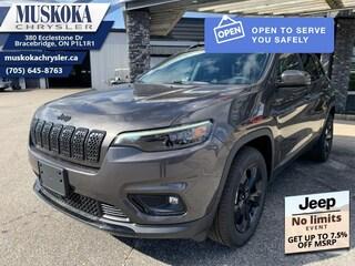 2021 Jeep Cherokee Altitude - Sunroof 4x4 for sale in Bracebridge, ON