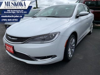 2016 Chrysler 200 Limited - Certified -  Bluetooth Sedan