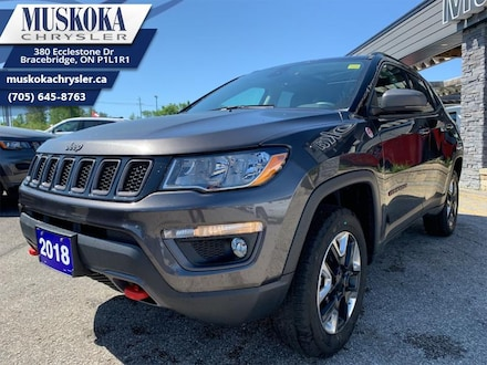 2018 Jeep Compass Trailhawk - Certified - Heated Seats SUV