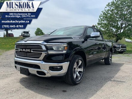 2019 Ram All-New 1500 Laramie - Leather Seats Truck Crew Cab