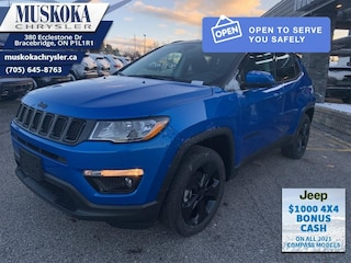 2021 Jeep Compass Altitude - Leather Seats - Sunroof 4x4