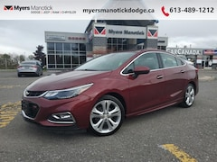 2016 Chevrolet Cruze Premier - Leather Seats - $134 B/W Sedan