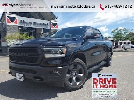 2020 Ram 1500 Big Horn Built To Serve Edition - Lockable Console Crew Cab