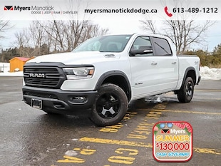 2019 Ram 1500 Big Horn - Big Horn -  Remote Start - $302 B/W Crew Cab