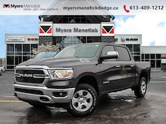 2020 Ram 1500 Big Horn - Remote Start -  Fog Lamps - $322 B/W Crew Cab