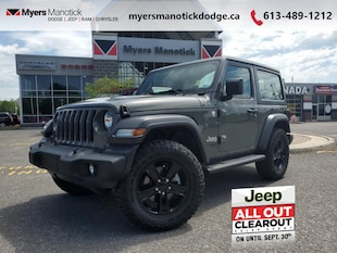 2020 Jeep Wrangler Sport - Off-Road Ready -  Uconnect SUV