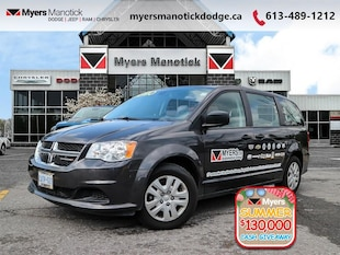 2019 Dodge Grand Caravan Canada Value Package - $165 B/W Van