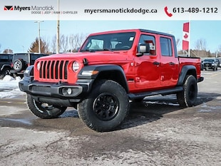 2020 Jeep Gladiator Sport Pkg, 2 Inch Lift 35 Inch Tire AND RIM Packa Regular Cab