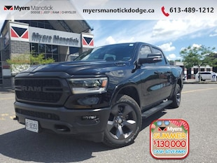 2020 Ram 1500 Big Horn - Remote Start -  Fog Lamps - $315 B/W Crew Cab
