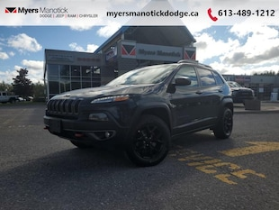 2018 Jeep Cherokee Trailhawk Leather Plus 4x4, Safety & Tech Group & SUV