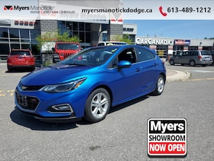 2017 Chevrolet Cruze LT LT RS Package With Power Moon Roof, Bose Stereo