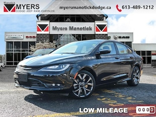 2016 Chrysler 200 S - Heated Seats -  Bluetooth - $181 B/W Sedan