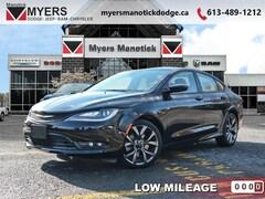 2016 Chrysler 200 S - Heated Seats -  Bluetooth - $181 B/W Sedan