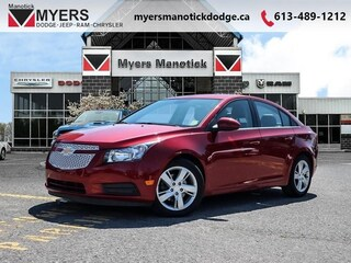 2014 Chevrolet Cruze Diesel - Leather Seats -  Bluetooth - $136 B/W Sedan