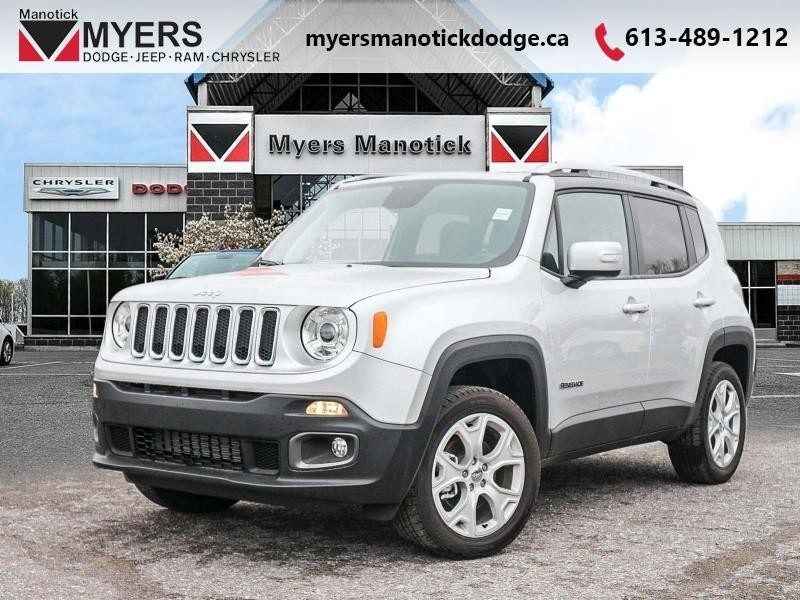 2018 Jeep Renegade Limited - Leather Seats - $192.63 B/W SUV