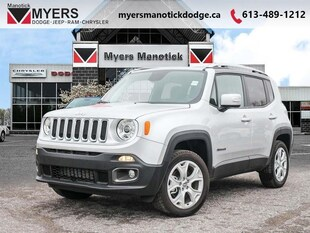 2018 Jeep Renegade Limited - Leather Seats - $192 B/W SUV