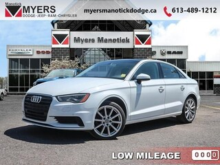 2016 Audi A3 2.0T Quattro Progressiv - Sunroof - $213 B/W Sedan