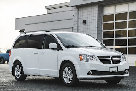 2020 Dodge Grand Caravan Crew Plus Van for sale in Nanaimo, BC