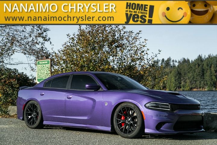 2016 Dodge Charger SRT Hellcat Low Kilometers Power Sunroof Sedan
