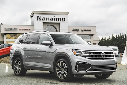 2021 Volkswagen Atlas Execline One Owner No Accidents SUV for sale in Nanaimo, BC