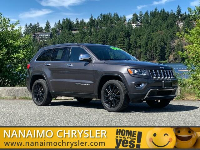2015 Jeep Grand Cherokee Limited Low Kilometers Navigation SUV