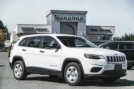 2021 Jeep Cherokee Sport Front-Wheel Drive for sale in Nanaimo, BC