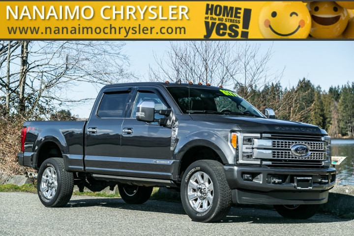 2019 Ford F-350 Platinum One Owner No Accidents Truck Crew Cab