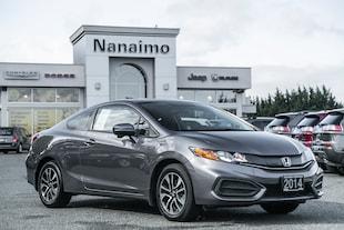 2014 Honda Civic EX Low Kilometers Power Sunroof Coupe