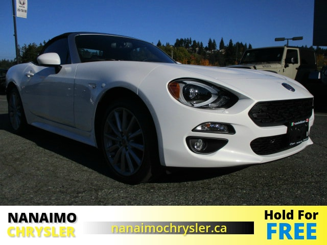 2017 FIAT 124 Spider Lusso Convertible